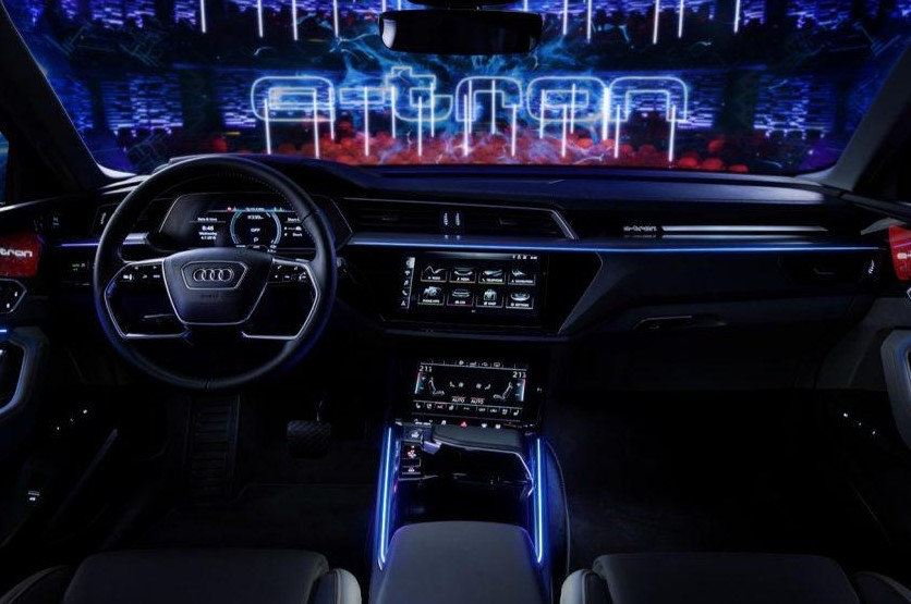 New Audi e-tron SUV Interior