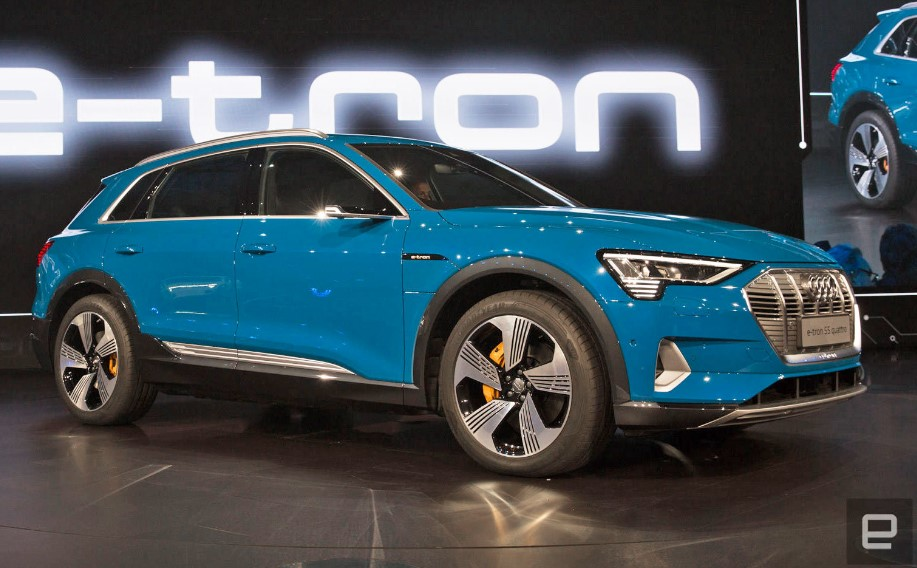 New Audi e-tron SUV Redesign