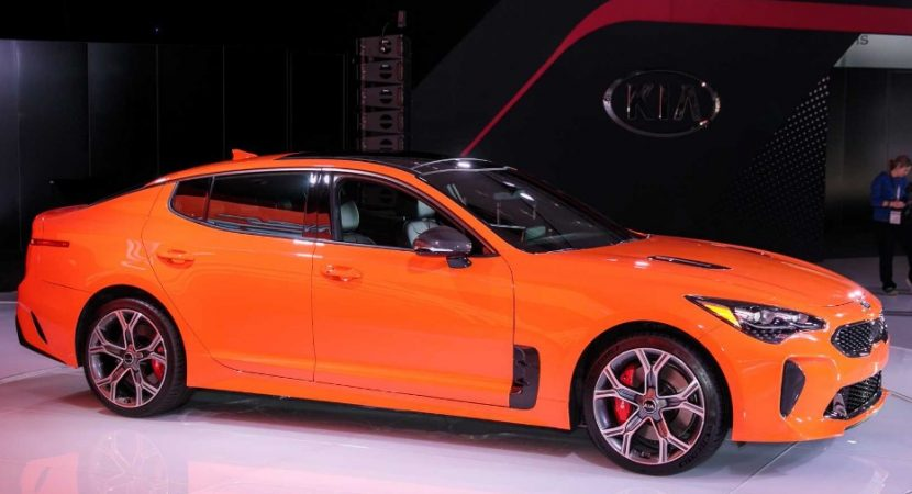 New Kia Stinger Concept