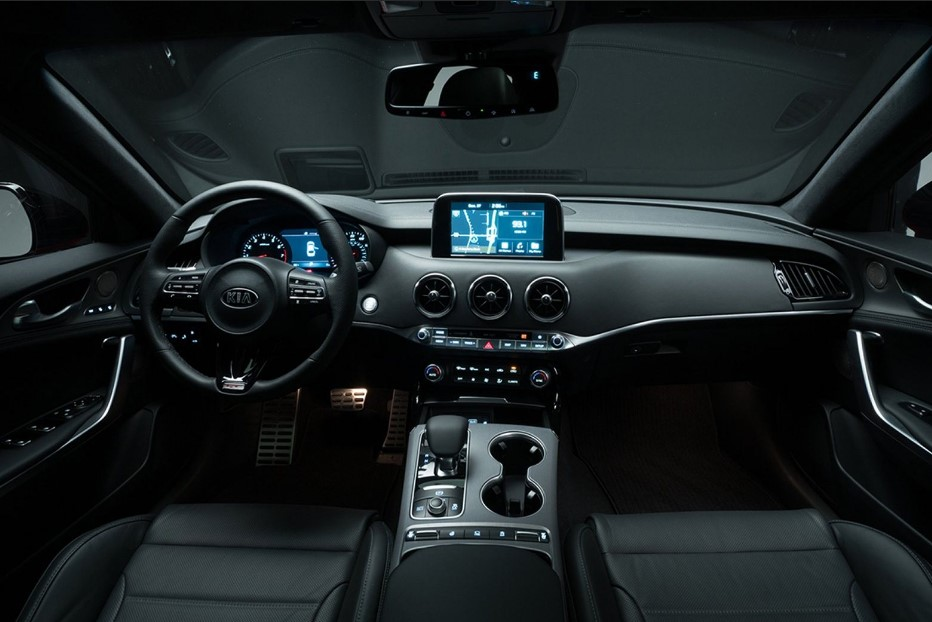 New Kia Stinger Interior Changes
