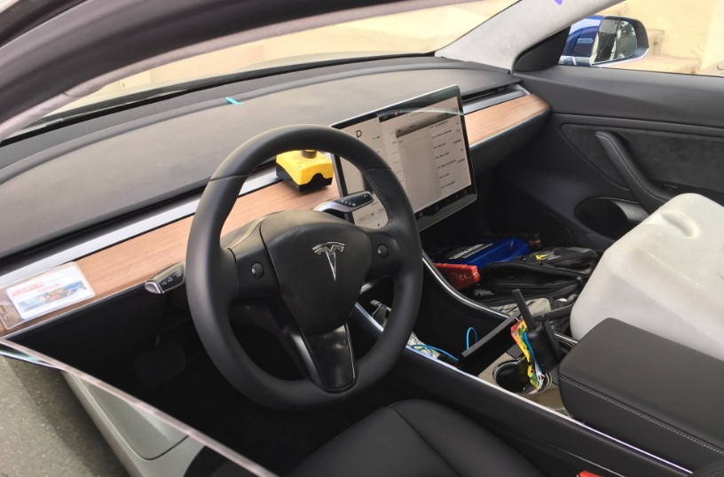 New Tesla Model 3 Interior