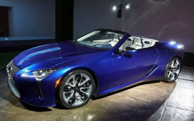 2021 Lexus LC 500 Concept Changes