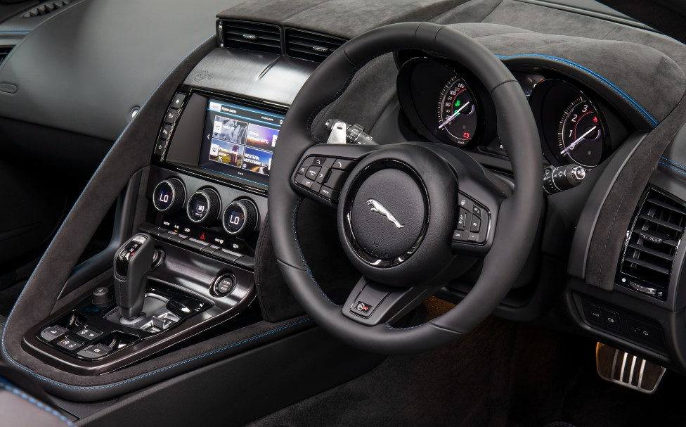 New 2020 Jaguar F-Type Interior