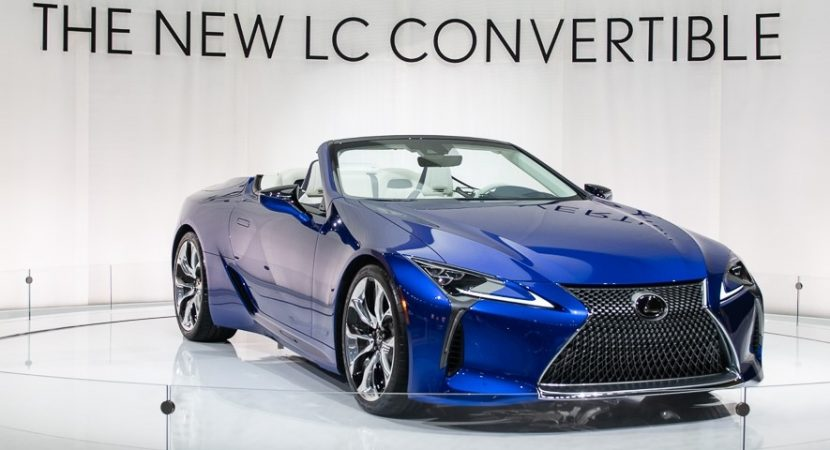 2021 lexus lc 500 convertible price release date  cars