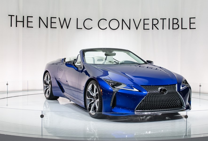 2021 Lexus LC 500 Convertible Price, Release Date - Cars ...