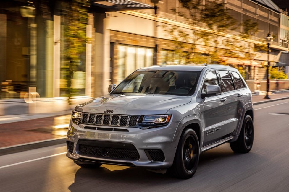2021 Jeep Grand Cherokee Exterior Changes